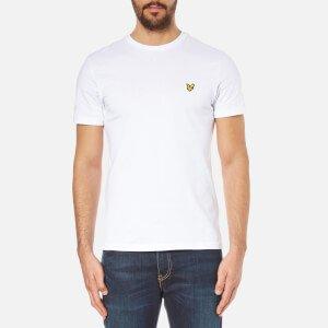 Lyle & Scott Men's Crew Neck T-Shirt - White Clothing   TheHut.com