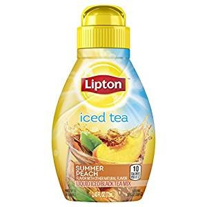 On Sale! Lipton Liquid Iced Tea Mix, Summer Peach 2.43 oz