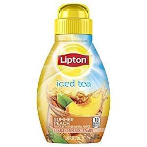 On Sale! Lipton Liquid Iced Tea Mix, Summer Peach 2.43 oz