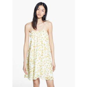 Printed chiffon dress - Women | OUTLET USA