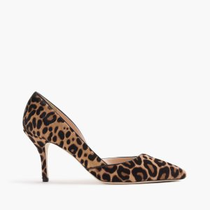 Colette D'Orsay Pumps In Leopard Calf Hair : Women's Pumps & Heels