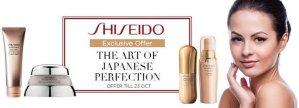 Up To 42% Off Shiseido Sale @ Sasa.com