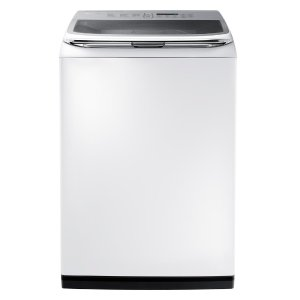 Samsung 5.0 cu. ft. Capacity Activewash Top Load Washer with Integrated Touch Controls in White-WA50K8600AW - The Home Depot