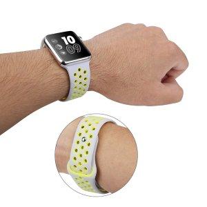 最强运动表带!白菜价仅售$5.99OULUOQI 38/42mm Applewatch Nike+ 样式 硅质表带