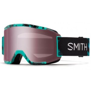 Smith Optics Squad Men's Snow Goggles Opal Unexpected Frame Red Sensor Mirror Lens | Focus Camera