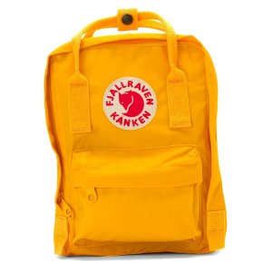 Kanken Mini - Warm Yellow by Fjallraven | Spring - Free Shipping. On Everything