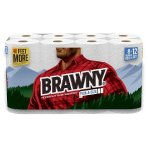 $14.06+$5GC 16-Count (8X2)Brawny Giant roll Paper Towels