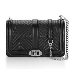 Geo Quilted Love Crossbody | Love Bags