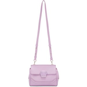 Versace: Purple Small Medusa Bag | SSENSE