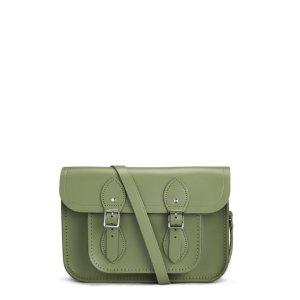 Ivy Green 11 inch Satchel with Magnetic Closure | Cambridge Satchel