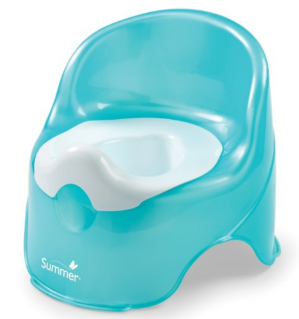 #1 Best Seller! Summer Infant Lil' Loo Potty, Teal and White