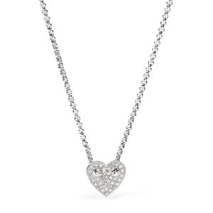 Heart Necklace - Fossil