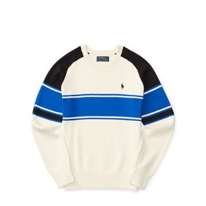 Striped Cotton Sweater - Sweaters � Big Kid (sizes 8-20) - RalphLauren.com