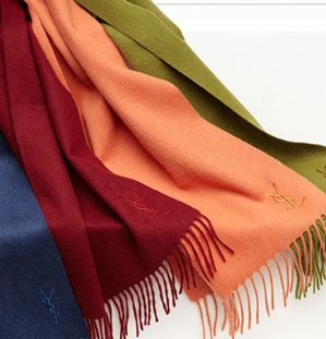 $69.99(Org.$295) Yves Saint Laurent Wool & Cashmere Scarf Sale @ Saks Off 5th