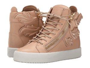 Giuseppe Zanotti Hi-Top Winged Sneaker
