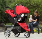 $267.07 Britax B-Agile 35 Travel System, Red