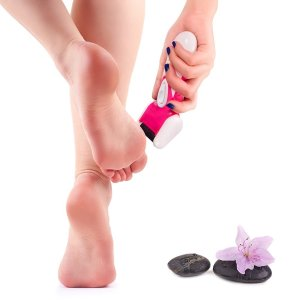 Pedicure, USpicy Callus Remover Perfect Foot File with Extra Roller Refill for DIY Foot Care