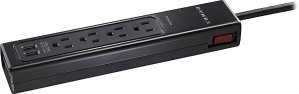 Dynex 4-Outlet, 2-USB-Port Surge Protector