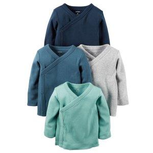 Baby Boy 4-Pack Kimono Tees | Carters.com