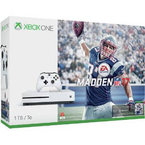 $357.10+Extra Wireless Controller Xbox One S Madden NFL 17 Bundle (1TB)+4K UHD Movie