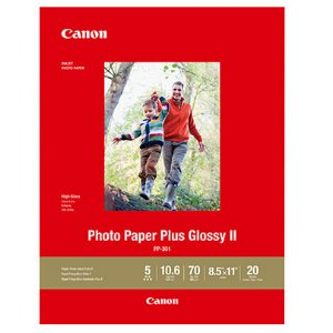 Photo Paper Plus Glossy II - PP-301 - LTR (20 Sheets)