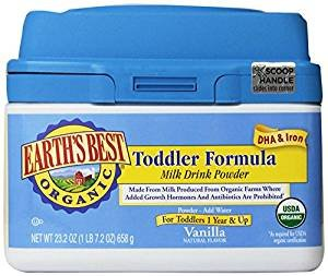 Earth's Best Organic Toddler Formula, 23.2 Ounce