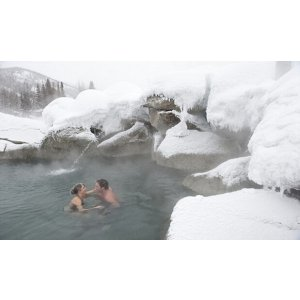 1 Day Chena Hot Springs Resort+Aurora Ice Museum