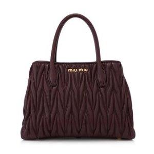 Miu Miu Matelasse Small Shopping Bag