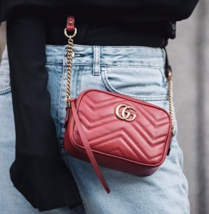 Dealmoon Exclusive! 10% OffGucci Mini GG Marmont 2.0 Leather Bag @ Luisaviaroma