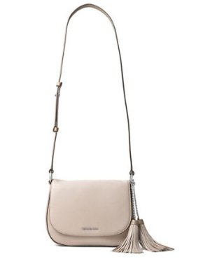 50% off + Extra 20% MICHAEL MICHAEL KORS Elyse Large Leather Saddle Bag