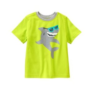 Toddler Boys Limeade Cool Shark Tee by Gymboree