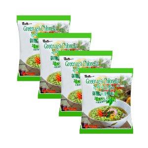 PALDO Green Tea Chlorella Noodle 4bags [B1G1 Free]