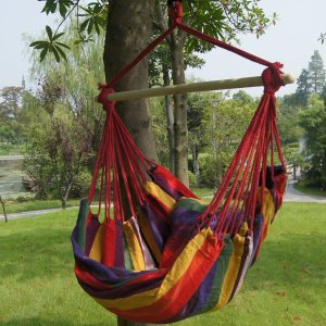 $19.99 Prime Garden Hanging Rope Hammock Chair Max. 275 Lbs
