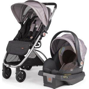 gb Alara Travel System Stroller and Asana35 Infant Car Seat - Mink - gb - Babies