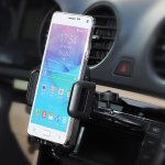 Mpow CD Slot Car Mount, Universal Cell Phone Holder with Three Side Grips for Smartphones