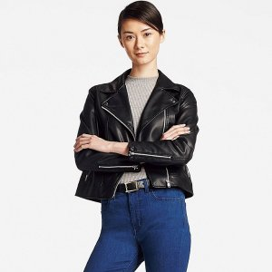 WOMEN MOTO JACKET | UNIQLO US