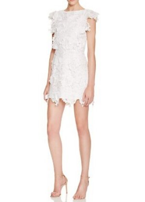Endless Rose 3D Lace Dress @ Bloomingdales