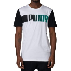PUMA RUNNING LOGO TEE - White | Jimmy Jazz - 57115202-100