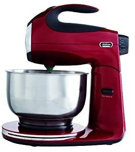$41.89 Sunbeam FPSBSM2104 Heritage Series 350-Watt Stand Mixer, Red