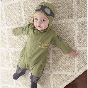 Baby Aspen 宝宝飞行员连体服套装