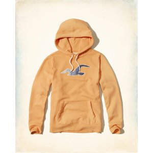 Guys Patterned Icon Graphic Hoodie | Guys Clearance | HollisterCo.com
