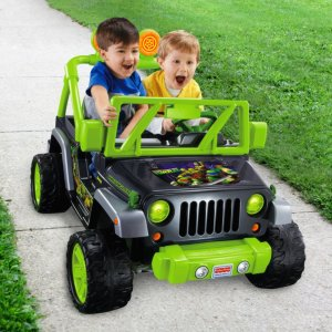 Power Wheels® Teenage Mutant Ninja Turtles™ Jeep® Wrangler | CHM44 | Fisher Price