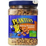 Planters Dry Roasted Peanuts, Dry Roasted Honey, 34.5 Ounce (Pack of 2)
