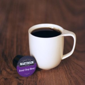 $13.31 Donut Shop Blend Martinson Coffee,48 Single Serve RealCups