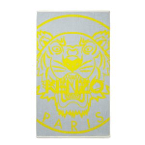 KENZO New Tiger Beach Towel - Glacier - Free UK Delivery over £50