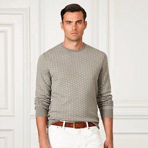 Art Deco Cashmere Sweater - Sale � Men - RalphLauren.com