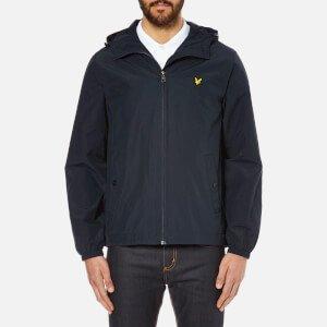 Lyle & Scott Vintage Men's Zip Through Hooded Jacket - New Navy Clothing   TheHut.com
