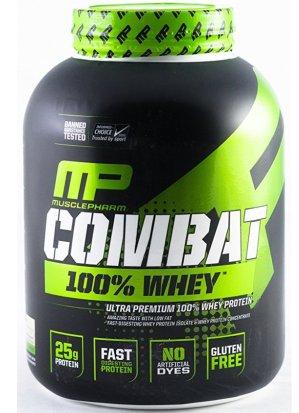 MusclePharm Combat 100% Whey Protein Powder 4lbs Vanilla