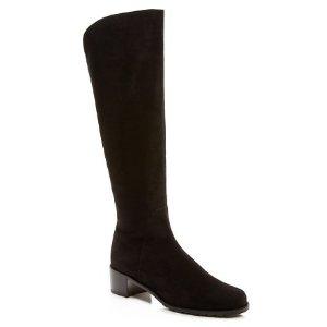 Stuart Weitzman Villepentagon 麂皮长筒靴