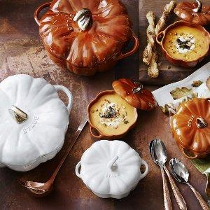 Staub Cast-Iron Pumpkin Cocotte | Williams Sonoma